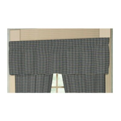 Patch Magic Cotton Rod Pocket Tailored Curtain Valance