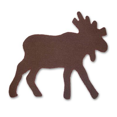 Patch Magic Cedar Moose Trail Kids Rug