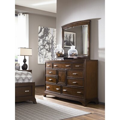 American Drew Essex Triple 9 Drawer Combo Dresser