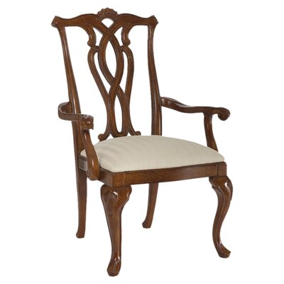 American Drew Cherry Grove Pierced Back Arm Chair