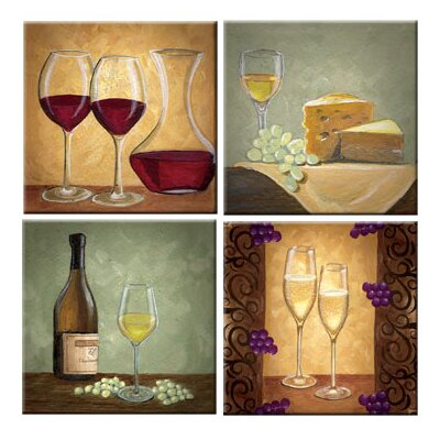 McGowan Tuftop The Wine Cellar Coasters (Set of 4)