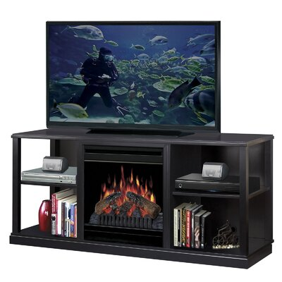 "Dimplex 61"" Cornet TV Stand with Electric Fireplace"
