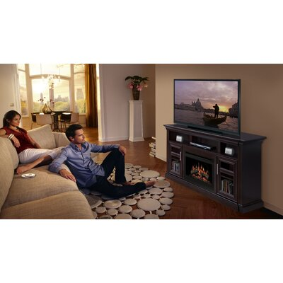 Dimplex Bailey 66&quot; TV Stand with Electric Fireplace