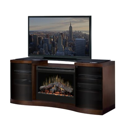 "Dimplex Acton 73"" TV Stand with Electric Fireplace"