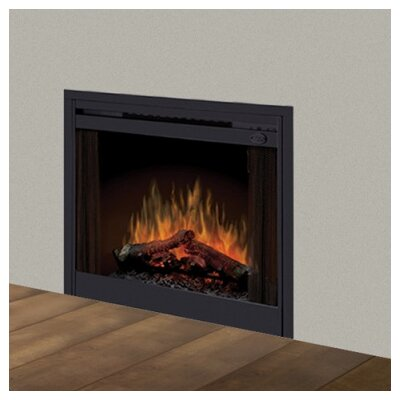 Electraflame Built In Electric Fireplace With Bifold Glass Door And Trim Wayfair