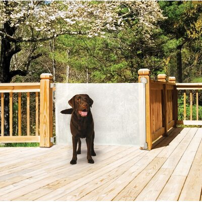 Bindaboo Retractable Gate in White