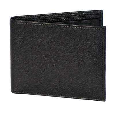 Dr. Koffer Fine Leather Accessories Small Wallet with ID Window
