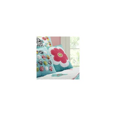 Abby/Jane Flower Decorative Pillow