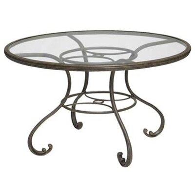 "Woodard Landgrave Old Gate 48"" Round Umbrella Table"