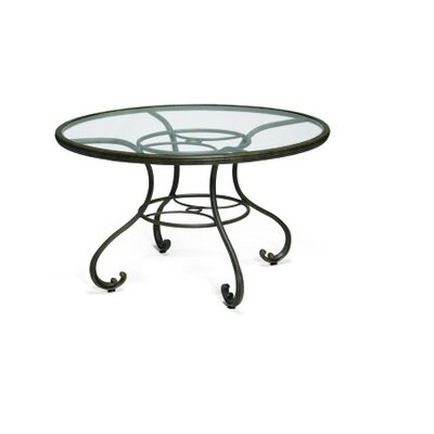 Woodard Landgrave Old Gate 48&quot; Round Umbrella Table