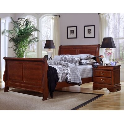 Vaughan-Bassett Barnburner Thirteen Sleigh Bedroom Collection
