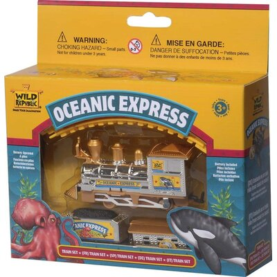 Wild Republic Train Set Aquatic