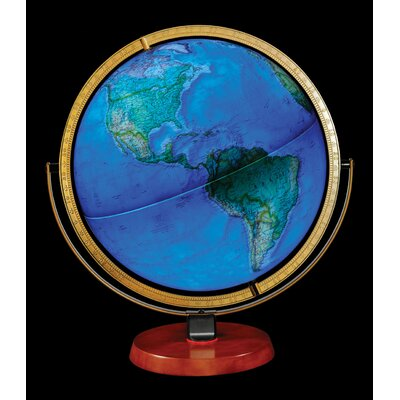 Replogle Globes National Geographic Byrd Illuminated Globe