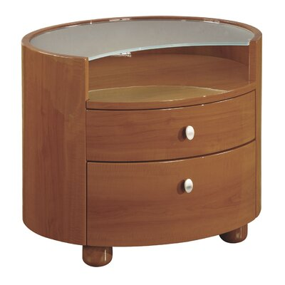Emily 2 Drawer Nightstand