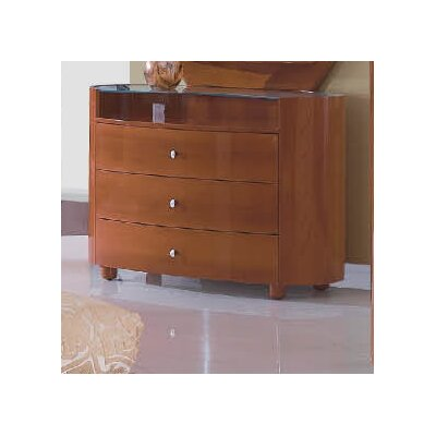 Global Furniture USA Emily 3-Drawer Dresser