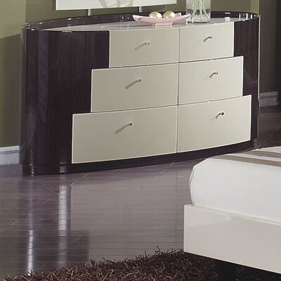 Global Furniture USA New York 6 Drawer Dresser