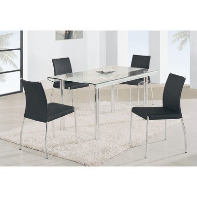 Global Furniture USA Foucher 5 Piece Dining Set