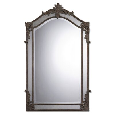 Alvita Medium Mirror in Aged Wood