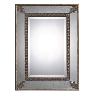 Uttermost Michelina Mirror in Heavily Antiqued Gold