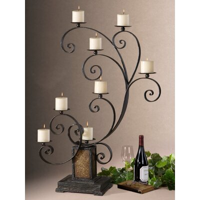 Uttermost Kara Metal, Glass  Candelabra