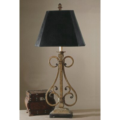 Uttermost Trenton Scroll Table Lamp