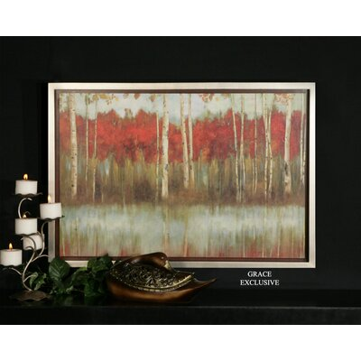 The Edge Wall Art in Hand Applied Brushstroke