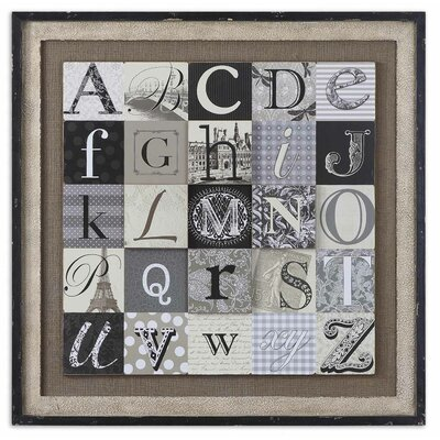 Designing Alphabet by Grace Feyock Wall Art - 36