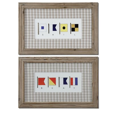 Signal Flags by Grace Feyock Wall Art - 19