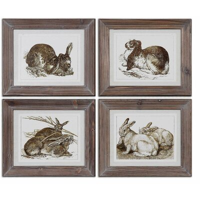 Regal Rabbits Framed Art