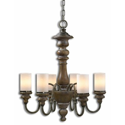 Torreano 6 Light Mini Chandelier