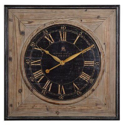 Laramie Wooden Wall Clock