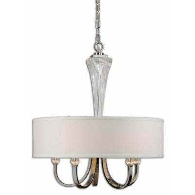 Uttermost Grancona 5 Light Drum Chandelier