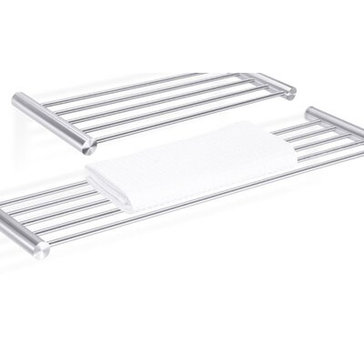 ZACK Civio Towel Shelf in Stainless Steel
