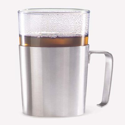 ZACK Rezzo Tea Cup Holder with Glass
