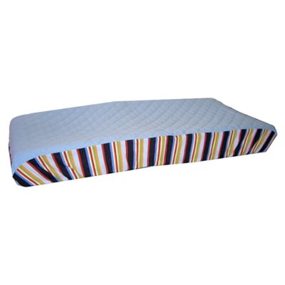 Bacati ABC123 - Quilted Changing Pad Cover in Multi
