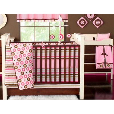 Bacati Mod Dots and Stripes 10 Piece Crib Set