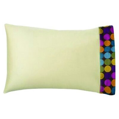 Bacati Dots and Stripes Spice Standard Pillowcase in Bright Multicolor