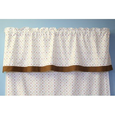Bacati Baby and Me Rod Pocket Tailored Curtain Valance