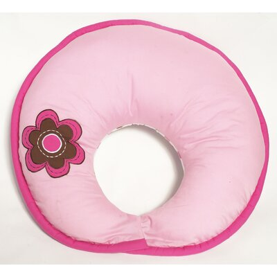Bacati Botanical Sanctuary Multicolor Nursing Pillow