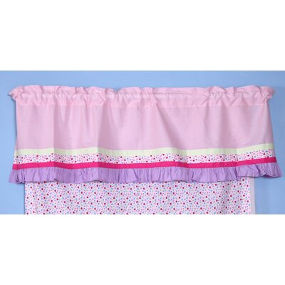 Bacati Fairyland Rod Pocket Tailored Curtain Valance