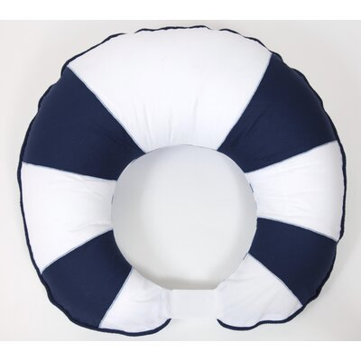 Bacati Little Sailor Nursing Pillow