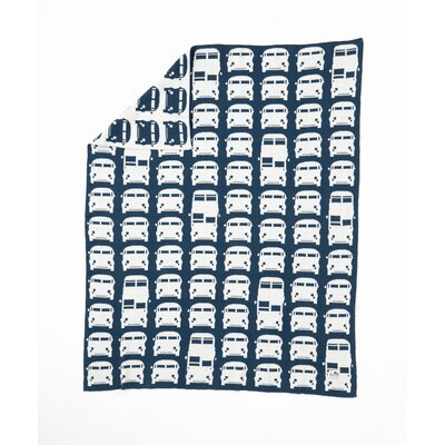 ferm LIVING Rush Hour Organic Cotton Blanket