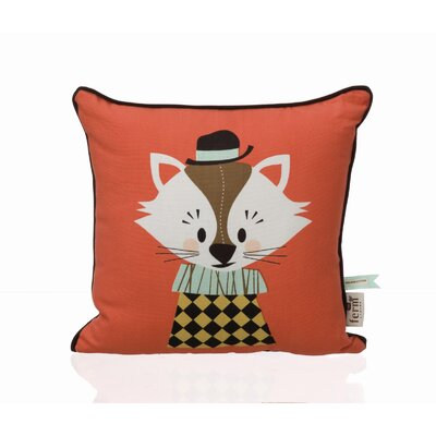 ferm LIVING Aristo Katt Organic Cotton Pillow