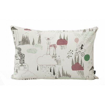 ferm LIVING In the Rain Organic Cotton Cushion