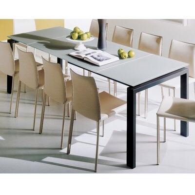 Bontempi Casa Telesio 13 Piece Dining Table with Linda Chairs