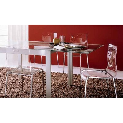 Bontempi Casa Axel 3 Piece Rectangular Dining Table with Felix Chairs