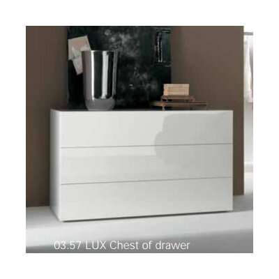 Bontempi Casa Lux 3 Drawer Dresser