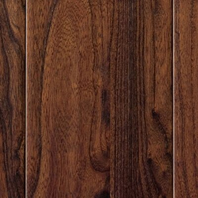 "Home Legend Hardwood 3-1/2"" Engineered Elm Flooring in Walnut"