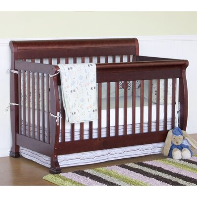 DaVinci Kalani Two Piece Convertible Crib Set with Toddler Rail in Cherry