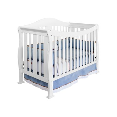 DaVinci Parker 4-in-1 Convertible Crib with Toddler Rail in Cherry Pine